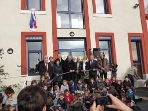 Inauguration de la rénovation de notre école (2015)