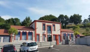 Photo de l'Ecole de Geyssans, prise fin Août 2016