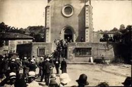 Mariage devant Eglise de Geyssans